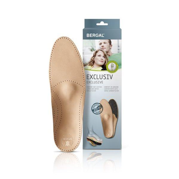 Bergal Exclusiv bőr lábágy női