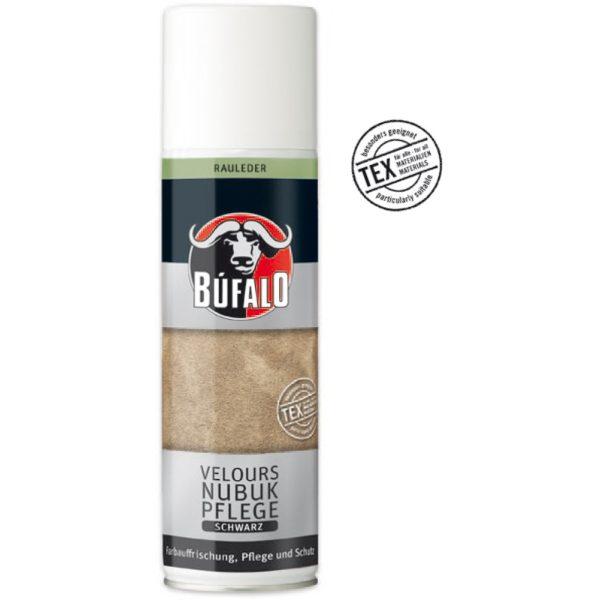 Búfalo velúr/nubuk bőrápoló spray 250 ml (fekete)