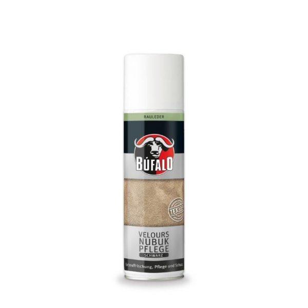 Búfalo velúr-nubuk kenőfejes ápoló 75 ml (fekete)